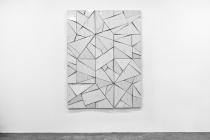 LELLO//ARNELL: <em>Phase Transition</em> | 2015 | Varnished aluminium with protective foil, oak, Valchromat | 160cm x 120cm