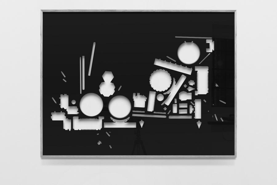 LELLO//ARNELL: <em>The Rational Machine</em><br/> | 2009 | Polyester-coated aluminium, framed | 120cm x 160cm