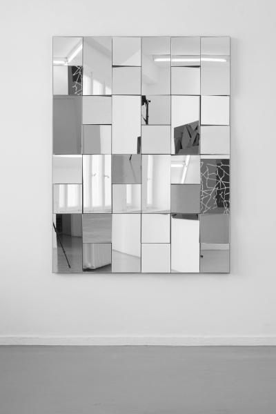 LELLO//ARNELL: <em>Apophenia</em> | 2014 | Mirror, oak, MDF | 160cm x 120cm