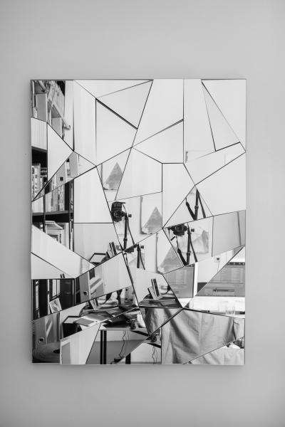 LELLO//ARNELL: <em>Apophenia</em> | 2014 | Mirror, oak, MDF | 130cm x 90cm
