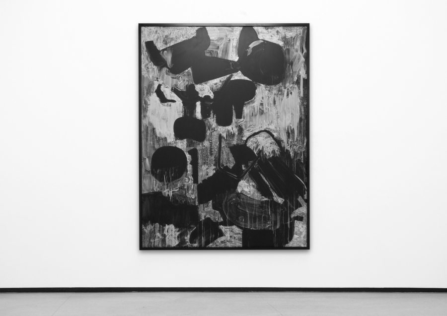 LELLO//ARNELL: <em>Examination of Modern Living (After Herbert Matter)</em><br/>2011, Chalk on blackboard, 200cm x 150cm