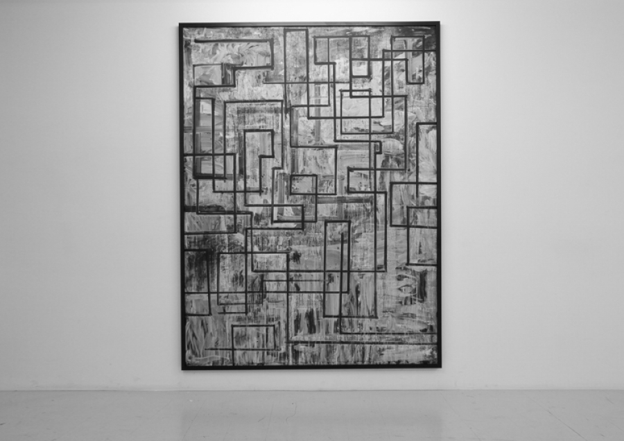 LELLO//ARNELL: <em>Journey </em>| 2011 | Chalk on blackboard | 200cm x 150cm