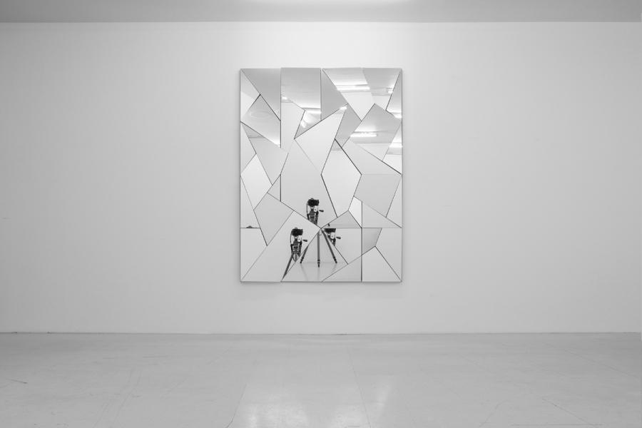 LELLO//ARNELL: <em>Apophenia</em> (detail) | 2013 | Mirror, oak, Valchomat MDF | 160cm x 120cm