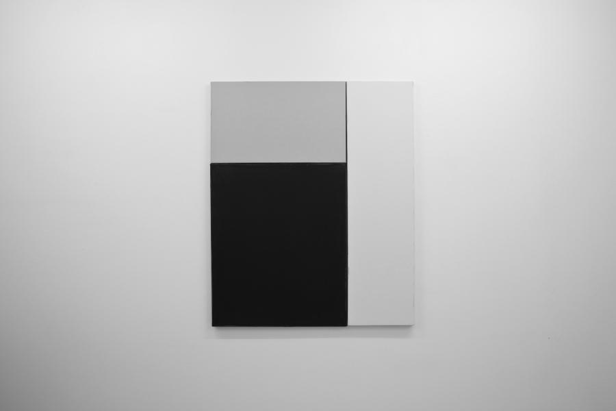 LELLO//ARNELL: <em>Three Colours in Juxtaposition</em>   2013   Acrylic on canvas   96cm x 80cm