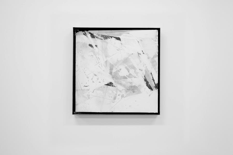 LELLO//ARNELL: <em>Parallel Self</em> | 2015 | Acrylic filler on Valchromat, steel frame | 60cm x 60cm