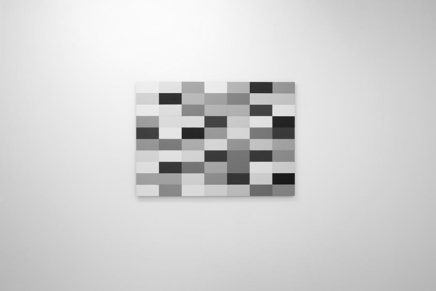 LELLO//ARNELL: <em>Colour Comparison Chart</em>   2013   Acrylic on Valchromat   62cm x 86cm