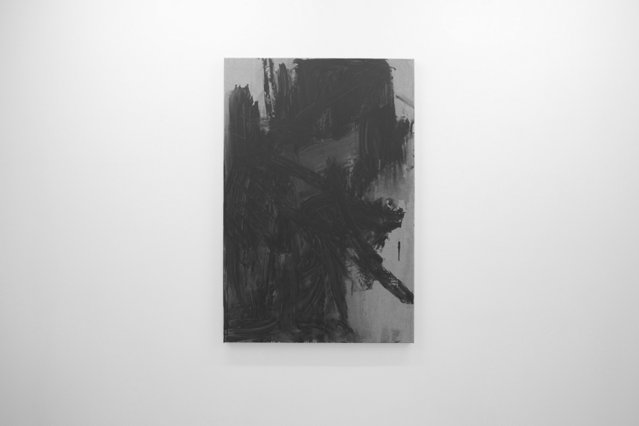 LELLO//ARNELL: <em>Anthropométrie (Necktie)</em> | 2013 | Acrylic on canvas | 120cm x 80cm