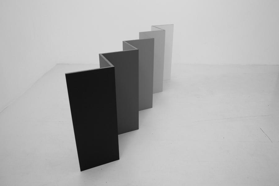 LELLO//ARNELL: <em>Partition</em>   2013   Acrylic on Valchromat   60cm x 18cm x 150cm
