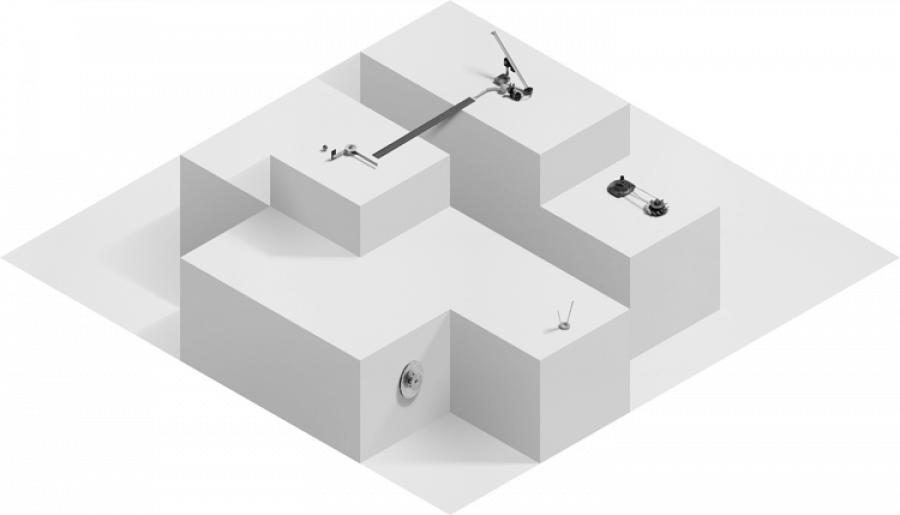 LELLO//ARNELL: Auxiliary Structures #1 (Polar Region Survey I) | 2008 | Digital print on aluminium | 80cm x 140cm